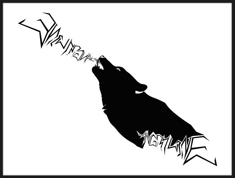 Angry howl