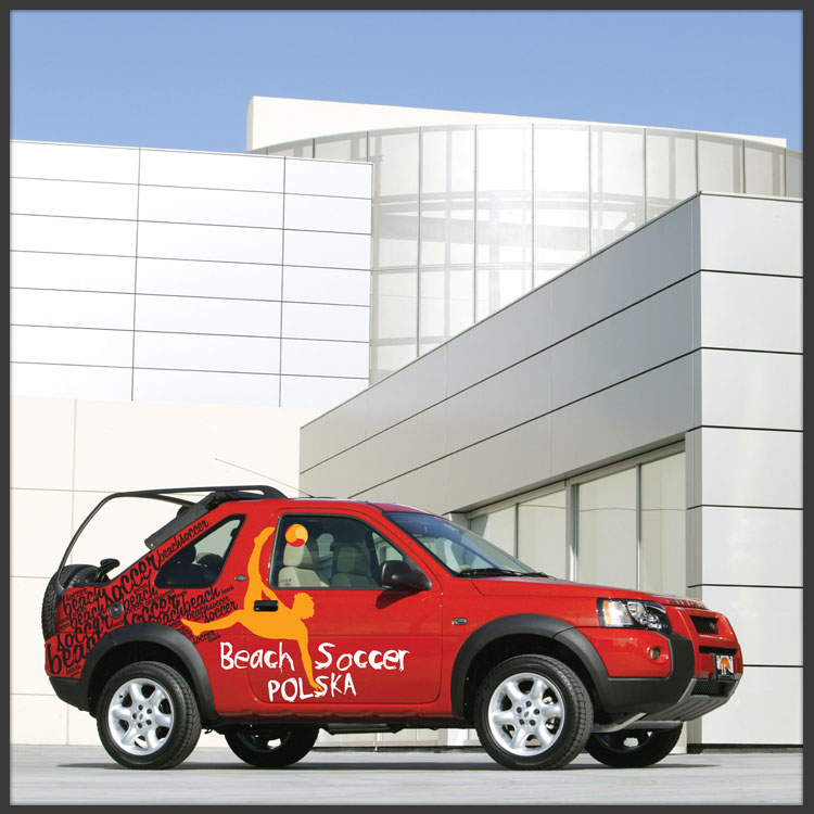 Beach Soccer official Tour Car