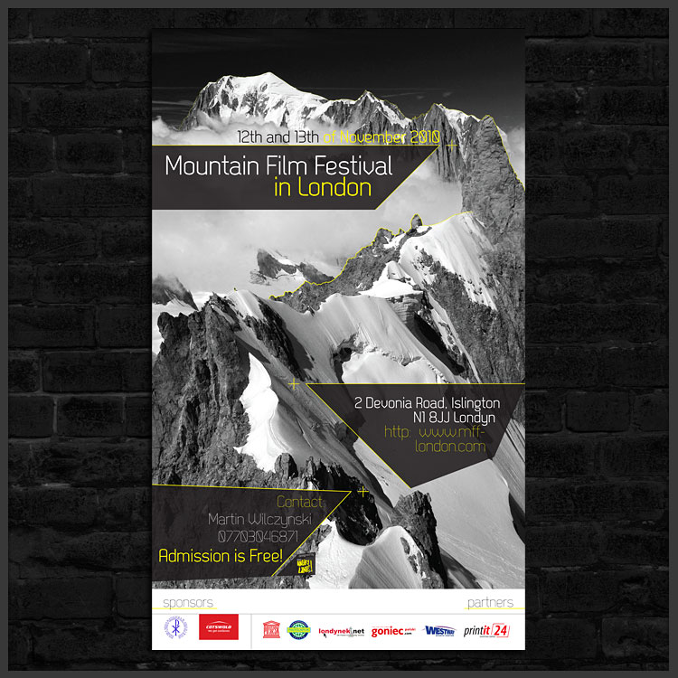Mountain film festival London